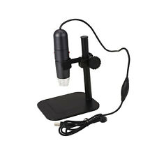 8LED 1000X 10MP USB Digital Microscope Handheld Endoscope Magnifier Cam Stand*