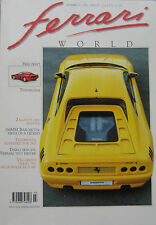 Ferrari World magazine Issue 13 July/August 1991  Testarossa, 348 tb Zagato