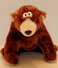 Squeezems Vintage Plush Bear Growls Purrs Soft Cuddly VERY RARE Fundamental Too