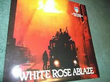 Brass Band,LP,  'White Rose Ablaze', W.Yorks Fire Service Band. vinyl