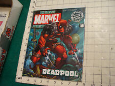 The Classic Marvel Figure #56 Deadpool, MAGAZINE ONLY, NO FIGURE