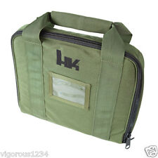 H&K Green Soft TACTICAL PISTOL CASE Heckler & Koch HK45 P30 USP P2000 VP9