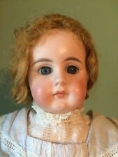Antique German Bisque Doll by Gebruder Kuhnlenz