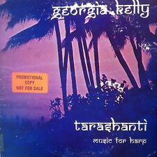 GEORGIA KELLY TARASHANTI MUSIC FOR HARP PROMO  LP MINT VINYL 1979 HERU RECORDS