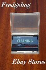 A SONY MICRO MV CAMCORDER DRY TYPE HEAD CLEANING TAPE / CASSETTE - MGRCLD