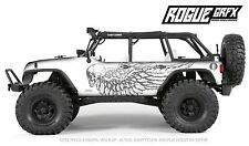 Axial SCX10 Rubicon or CRC Edition Body Graphic Wrap Skin- Outlaw Skull