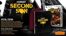 inFAMOUS Second Son Special Edition PS4 AUS EDITION *BRAND NEW* + Warranty!