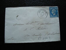 FRANCE - enveloppe 1867 (cy26) french