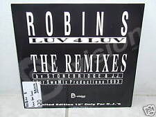 "*****ROBIN S""LUV 4 LUV-THE REMIXES""-12""Inch/Import*****"