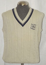 NWT Ford Motor Company Employee Cable Knit Sweater Vest (Size XL)