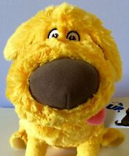 Disney Pixar Up DUG Golden Retriever Dog Stuffed Plush Soft Toy Puppy Doug NEW!
