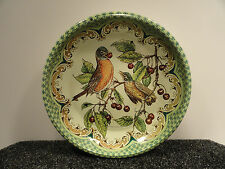 Vintage Daher Decorated Ware Tin Plate