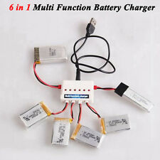 6 in 1 Multi Function Battery Charger For Syma X5SW X5SC Hubsan Quadcopter Drone