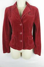 American Eagle AE Velvet Blazer Jacket Woman's Small S Red