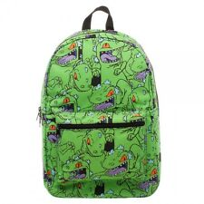 Rugrats Reptar Hear Me Roar Cartoon TV Show Sublimated School Bag Backpack