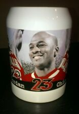 Michael jordan commemorative tankard/mug (upper-deck) NBA 1997