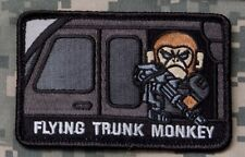 Mil-Spec Monkey Flying Trunk Monkey Morale Patch Swat Hook Back