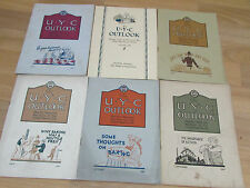 Collection UNITED Yeast Co UYC Outlook 1920's Magazines BAKING interest Recipes