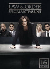 Law And Order SVU - Special Victims Unit : Season (Sixteen) 16 : NEW DVD