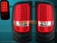 94 95 96 97 98 99 00 01 DODGE RAM 1500/2500/3500 TAIL LIGHTS LED RED
