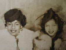 VINTAGE ANTIQUE AFRICAN AMERICAN BEAUTY BLACK HISTORY COUTURE VERNACULAR PHOTO