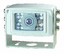 HEAVY DUTY TRUCK CARAVAN SONY CCD REAR VIEW 110° CAMERA  600 TVL  4 PIN   WHITE