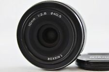 [Exc] Nikon 1 NIKKOR 10mm F2.8 RF Black Lens For Nikon 1