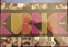 Stanley Kubrick The Masterpiece Collection On Blu-Ray Region Free New.