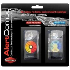 Seachem Alert Combo PH & AMMONIA Readings for SALTWATER or FRESHWATER Aquarium