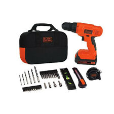 BLACK+DECKER 20V MAX* Lithium Drill/Driver Project Kit - BDCD120VA