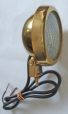 Spotlamp, Worklamp, Canal Boat Tunnel lamp, Small size, Brass    L84010