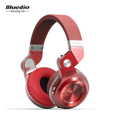 NEW Genuine BLUEDIO T2S Wireless Bluetooth V4.1 Stereo Headphones Headsets (Red)