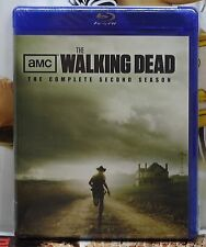 BRAND NEW WALKING DEAD SEASON 2 BLU-RAY! 4 DISCS! 13 EPISODES! FACTORY SEALED