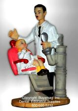 "DENTAL GIFT ART OFFICE DECORATION STATUE FIGURINE PRESENT 11"" X 8""   12 AVAIL"