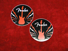 Fender Guitars TWO Sticker Set......