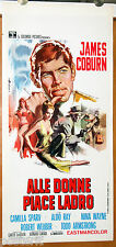 locandina film DEAD HEAT ON A MERRY-GO-ROUND James Coburn 1966