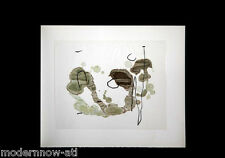 Joan MIRO LITHOGRAPH ink Onion & RIVES Paper Limited Ed 53/100 Ref. c82* + b460*