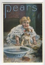 ad0323 - Pears Soap - Pears To The Rescue - Modern Advert Postcard