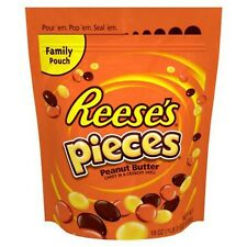 Reeses Pieces 19 oz Peanut Butter Candy Crunchy Shell Candy Bag