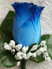 Rose Boutonniere*Corsage Royal Blue *Best man*Prom*Party*Quinceanera