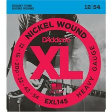 D'Addario EXL145 Heavy Nickel Round Wound Electric Guitar Strings 12-54