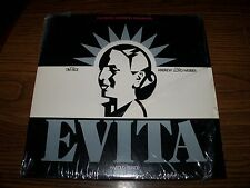 Evita 2 LP Set Andrew Lloyd Webber Tim Rice Rare & Booklet MCA2 11007
