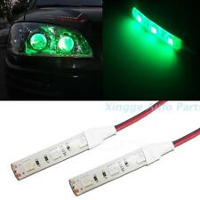 2pcs 3-SMD green  LED Strip Lights Lamp For Motorcycle Under Glow  Lighting