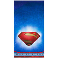 SUPERMAN Man of Steel PLASTIC TABLE COVER ~ Birthday Party Supplies Decorations