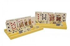 NEW Set of 2 Plastic Domino Racks/Playing Card Holders, New, Free Shipping