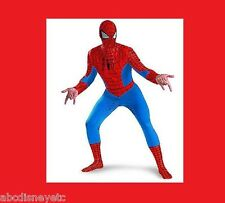 DISNEY Store Costume Spiderman NEW Mens Adult XL  Marvel The Amazing Spider Man
