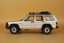 1/18 New China BJ jeep Cherokee 2500 model silver color + gift