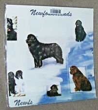 NEWFOUNDLAND - Gift Wrapping Paper w/matching Gift Cards by Maystead
