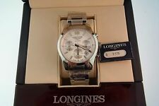 Brand New Longines Conquest Chronograph Watch Retails @$3,175