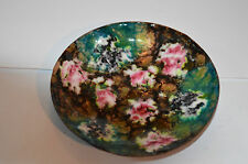 SMALL OLD ORIENTAL CLOISONNE DISH